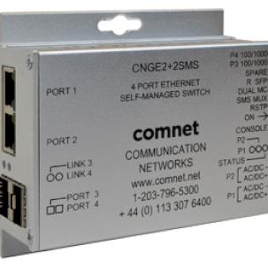 ComNet представила самоуправляемый коммутатор CNGE2+2SMS.