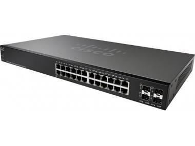 Коммутатор CiscoSB SG220-28MP-K9-EU