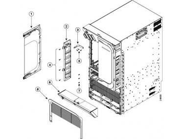 Монтажный набор Cisco ASR-9010-4P-KIT=