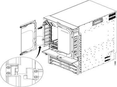 Крышка Cisco ASR-9010-DOOR=