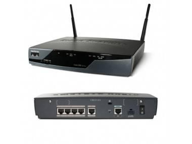 Маршрутизатор Cisco CISCO857W-G-A-K9