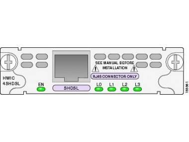 Модуль Cisco HWIC-4SHDSL