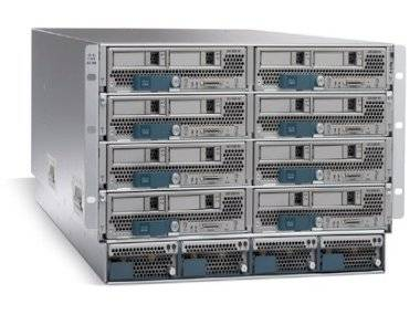 Шасси Cisco UCSB-5108-AC2-CH