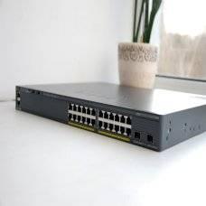 Коммутатор Cisco WS-C2960X-24PD-L