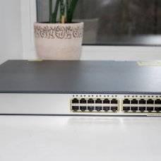 Коммутатор Cisco WS-C3750E-24TD-S Catalyst 3750E 24 10/100/1000+2*10GE(X2)265WIPB s/w