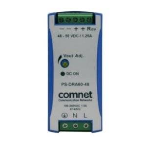 Блок питания Comnet PS-DRA60-48A