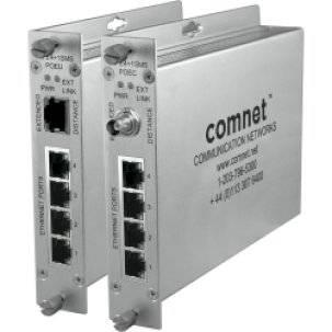 Коммутатор ComNet CLFE4+1SMSC