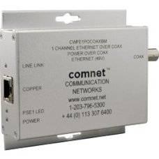 Медиаконвертер ComNet CWFE1POCOAX(A)