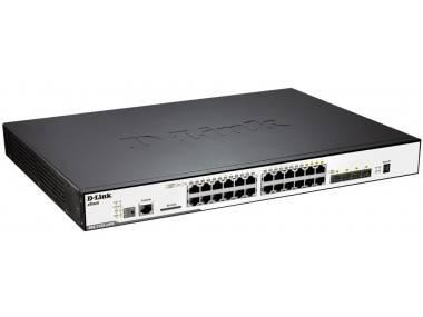 Коммутатор D-Link DGS-3120-24PC/B1ARI