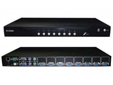 Коммутатор D-Link DKVM-IP8/T1B
