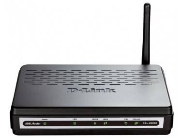 Маршрутизатор D-Link DSL-2640U/RART/U1A
