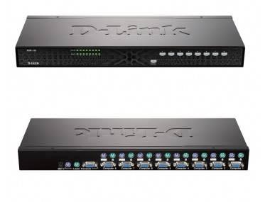 KVM-переключатель D-Link KVM-140
