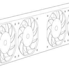 Вентиляторный модуль Juniper SRX3400-FAN