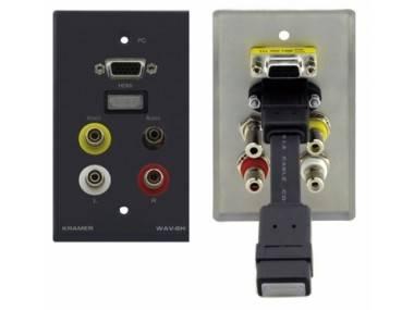 Панель-переходник Kramer WAV-6HDMI
