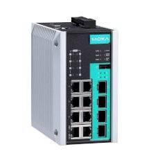 Коммутатор Moxa EDS-G512E-8PoE-4GSFP-T
