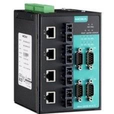 Асинхронный сервер NPort S8458-4S-SC-T 4-port RS-232/422/485, 4 x 10/100 Ethernet, 4 x 100SM Fiber, SC, 12-48 VDC