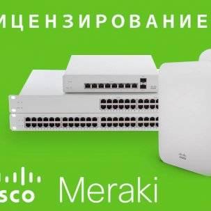 FAQ по лицензированию Cisco Meraki