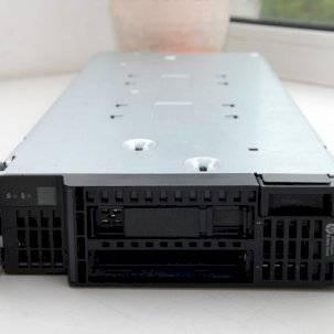 Поступление на склад серверов HP BL460c