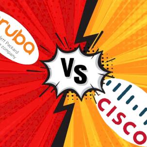 Сравнение точек доступа Cisco и HPE Aruba