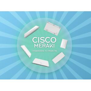 Сравнительная таблица точек доступа Meraki