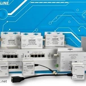 Усовершенствование, перенос или развертывание IP-инфраструктуры при работе с медными удлинителями ComNet