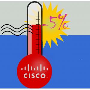 Усушка цен на Cisco
