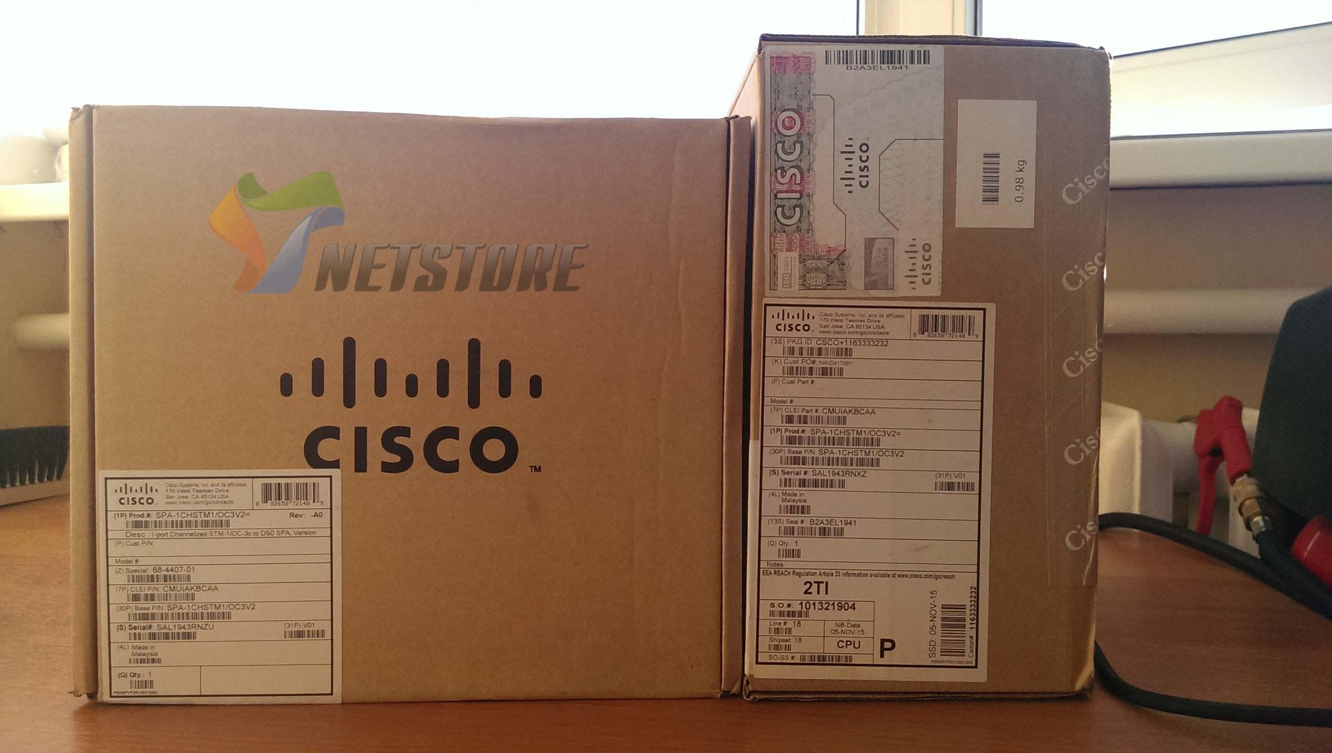 Новые поступления товаров на склад Netstore