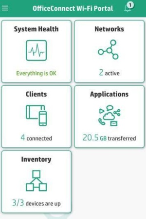 HPE OfficeConnect App
