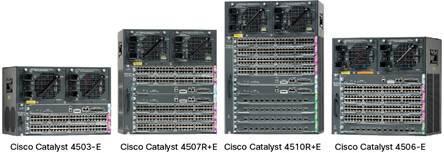 Коммутаторы серии Catalyst 4500e