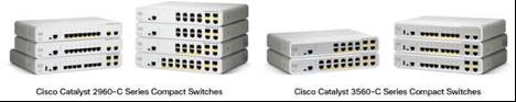 Cisco Catalyst 2960c/3560c compact series