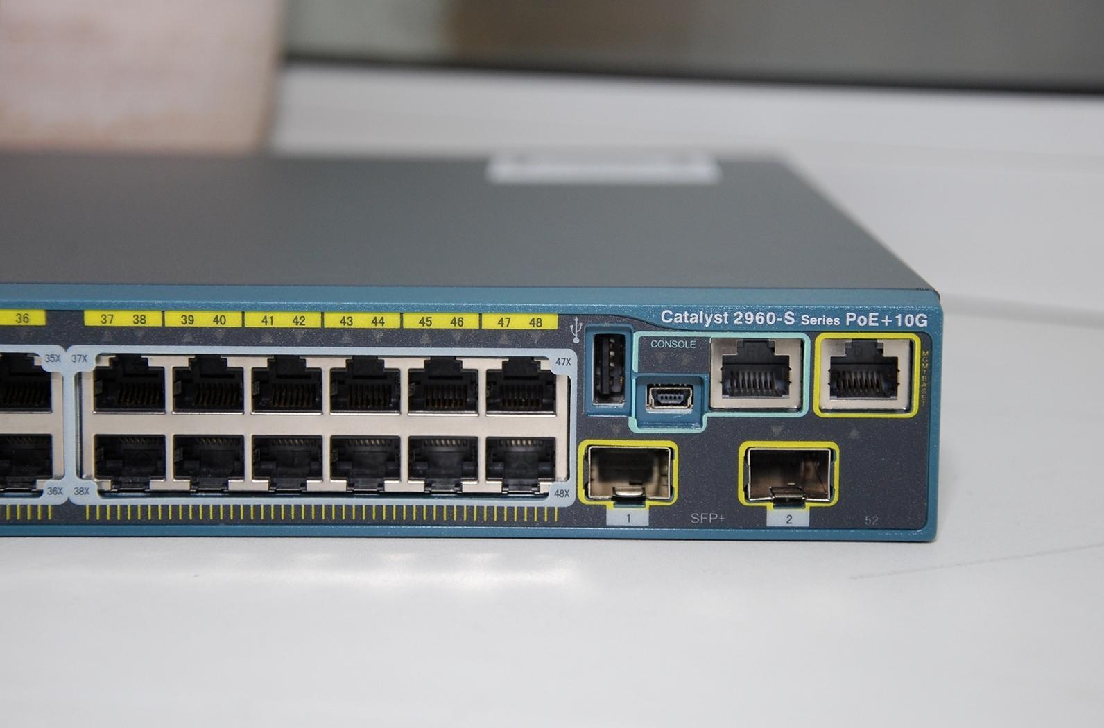 Коммутатор Cisco WS-C2960S-48LPD-L в магазине NETSTORE