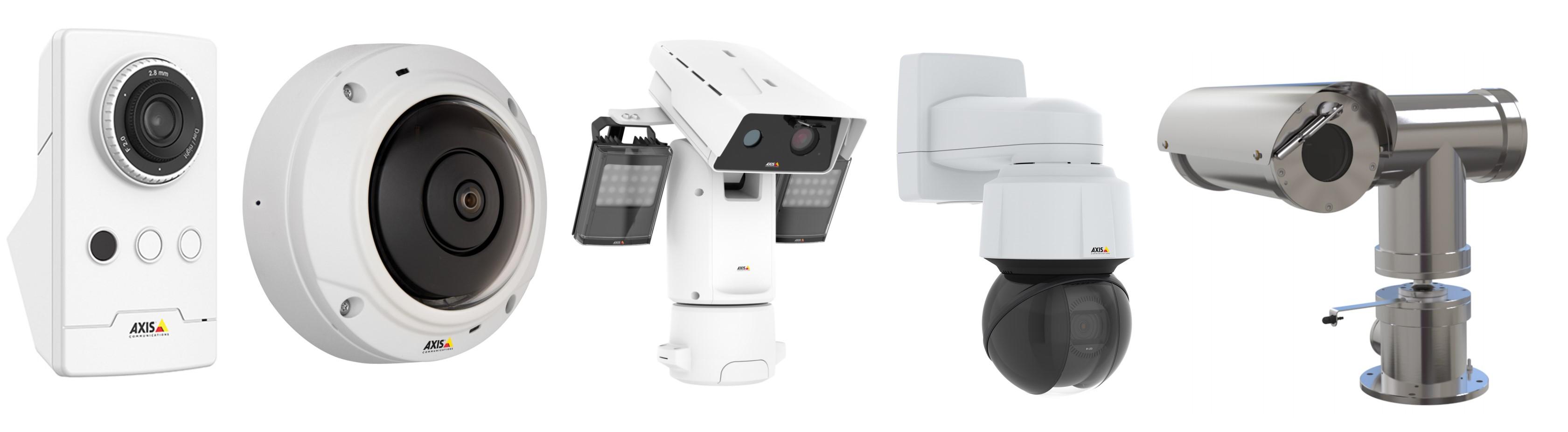 Типы IP-камер Axis