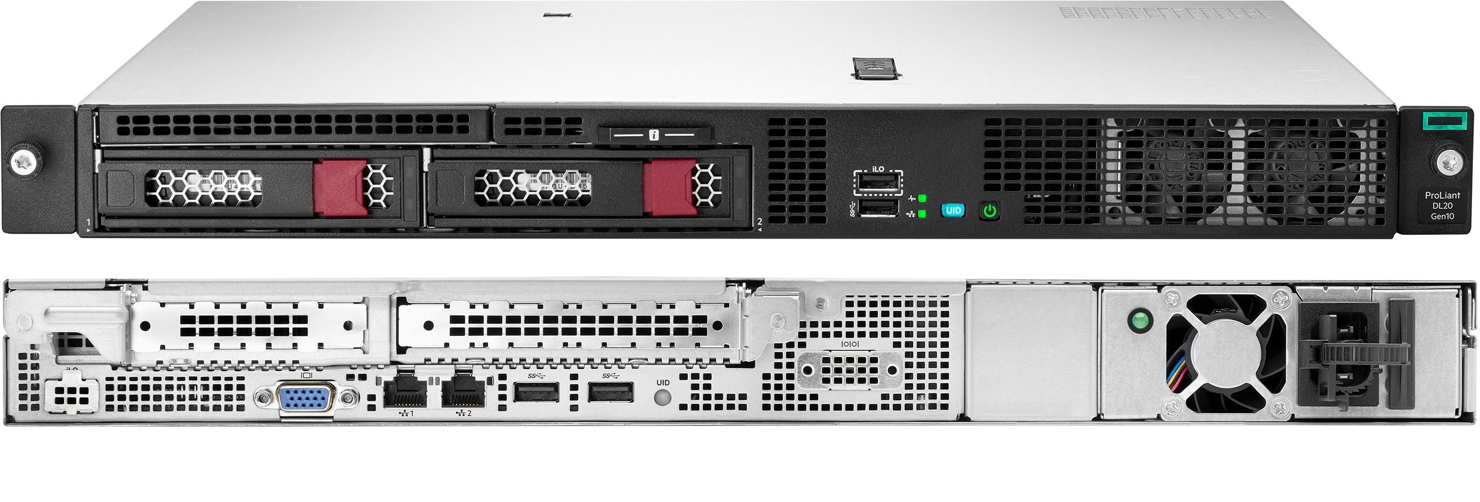 Сервер для организации удалённой работы HPE DL20 Gen10