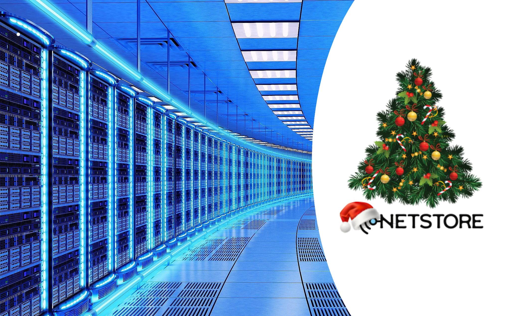 Команда Netstore поздравляет вас с Новым Годом!