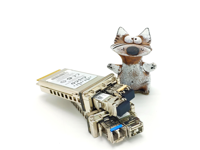 Тест-драйв трансиверов Cisco в Netstore