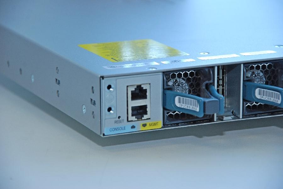 Порты администрирования WS-C3850-48P