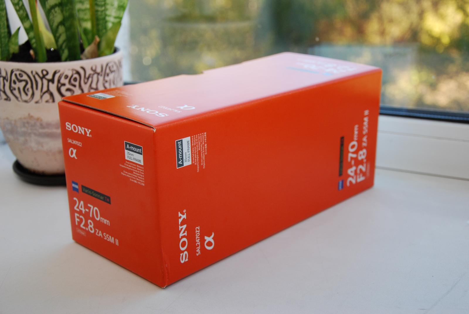 Коробка объектива SAL-2470Z2